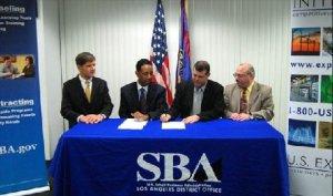 SBA GTCC signing